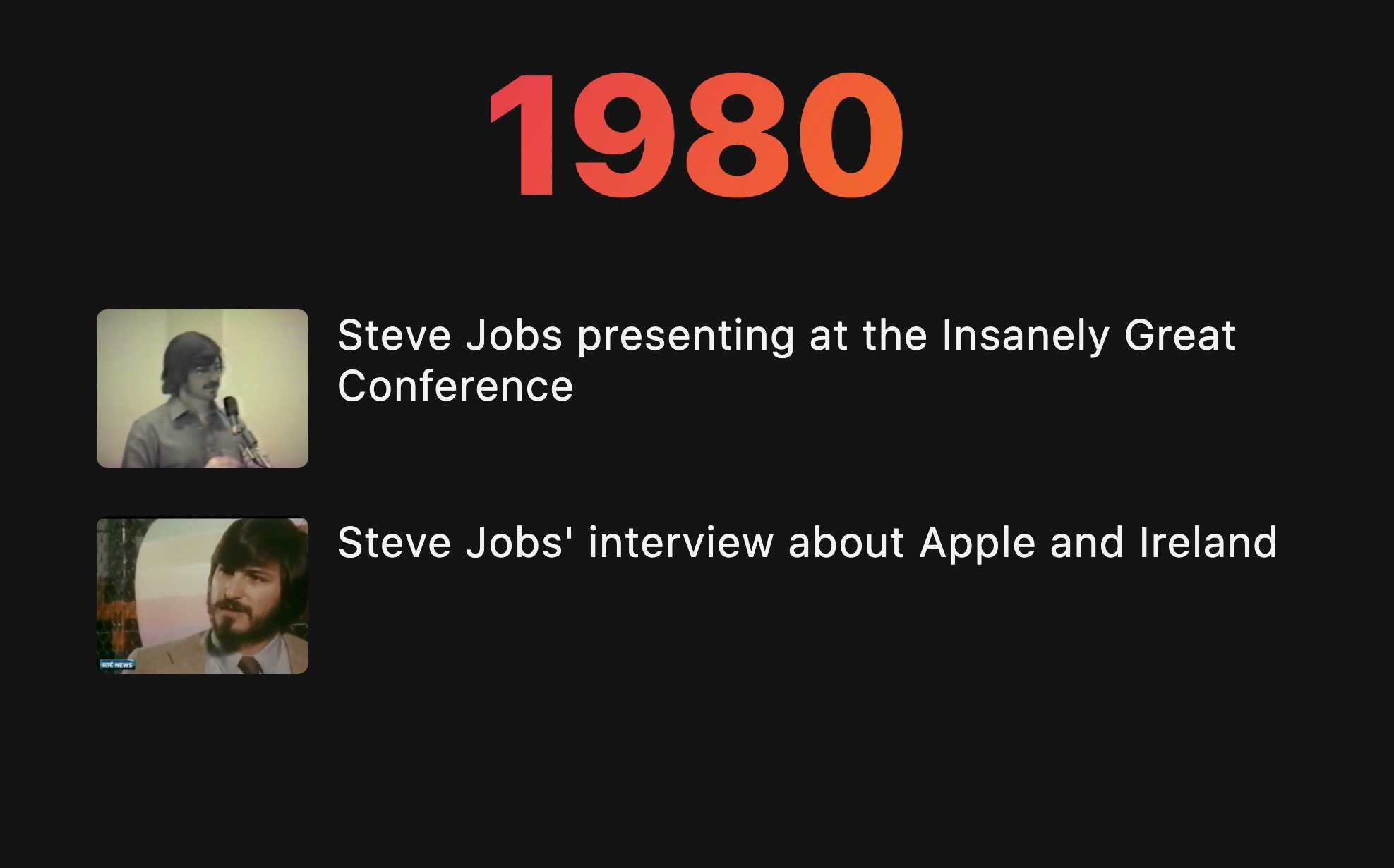 1980 The Apple Archive